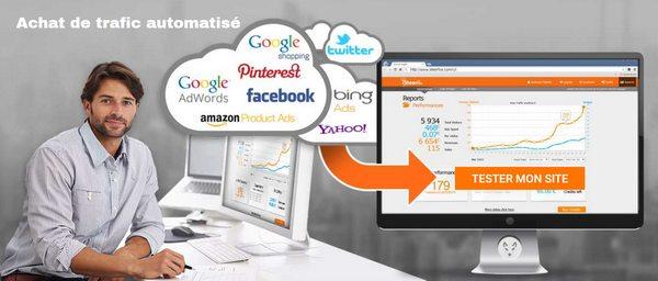 achat de trafic web automatisé