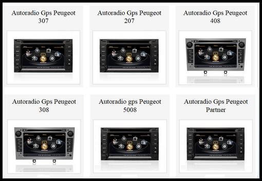 autoradio multimedia gps dvd