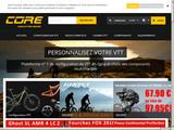 Vente VTT en ligne sur Core Mountain Bikes