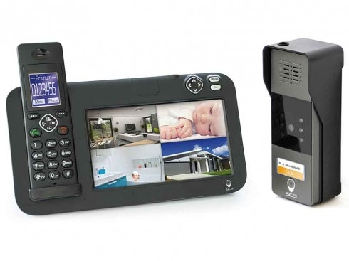 interphone video sans fil pas cher sur SCS la boutique